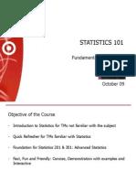Free Trial Statistics101