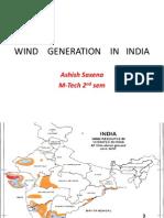 Wind in India