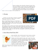 Current Issue and Problems of Africa (English)