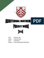 Addmaths Project 2014