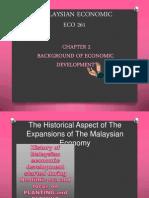 BACKGROUND OF ECONOMIC DEVELOPMENT