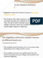 PreparHow to Prepare For Aviation Engineering Entrance Examinationse for Aviation Entrance Examinations
