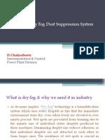 Training on Dry Fog Dust Suppression System