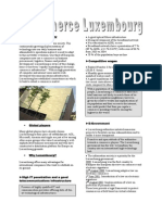 E-commerce Luxembourg Promotion Paper