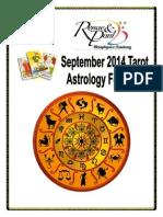 September Astro Forecast 2014