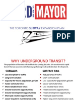 Rob Ford's transit plan