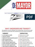 Rob Ford's transit plan