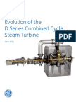 Evolution of the D Series Combined Cycle Steam Turbine