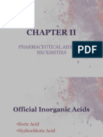 Pharmaceutical Aids and Necessities (Report Pharchem 1-Group 1)