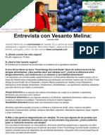 Entrevista con Vesanto Melina ESPAÑOL