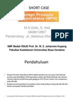 Short Case BPH Maria a. Gollu