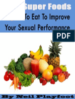 5 Super Foods to Eat to Improve Your Sexual Performance