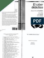 Camilloni-El Saber Didactico