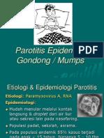 Parotitis Epidemica
