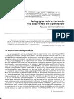 Contreras Domingo Jose-Pedagogias de La Experiencia