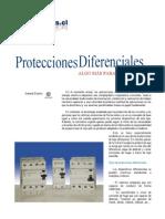 Protecciones Diferenciales