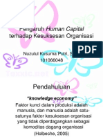 human capital vs kesuksesan org