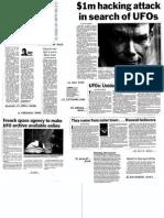 UFO Newspaper/Magazine Cuttings from NSW Australia - December 2005 to June 2010