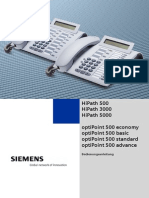 Bedienungsanleitung Telefon OptiPoint 500