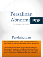 Persalinan Abnormal