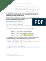 Mantenimiento de Datos Base de Datos Java MySQL