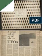 UFO Newspaper/Magazine Cuttings from NSW Australia - 1968 to 1973