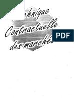 BYBAT - Technique Contractuelle Des Marchés