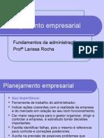 Planejamento empresarial - aula dia 04-05 e 07
