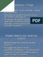 Romantismo- prosa