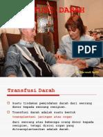 Transfusi Darah Dan Komplikasi