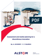 Assessment and Market Planning for a Disontinuous Innovation