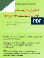Prelegere Patologia Articulaţiei Temporo-mandibulare