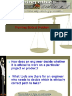 Framing Ethical Problem