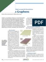 Graphen – vielversprechendes Kohlenstoffblatt