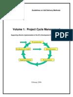 Project Cycle Management Manual 2004 En