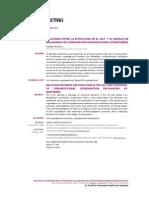 Pucheu, A. (2010) Relaciones entre la estructura  en el self y el modelo de mecanismos de  coordinación organizacional de Minztberg.