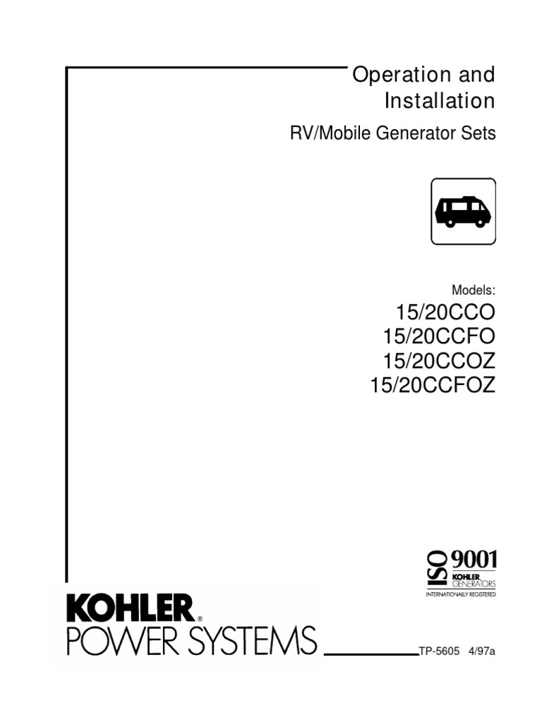 Tp5605 Kohler Fuse Electrical Exhaust Gas 15 5 Hp Charging Wiring Diagram