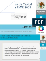 Presentacion Convocatoria Programa Capital Semilla PyME Agos 2