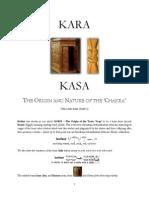 KARA-KASA the Origin and Nature of the Chakra