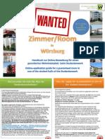 Uni Wü - Wohnheim Bewerbung Online 2013