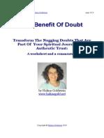 Halina Goldstein BenefitOfDoubt
