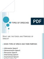 2014 - t3- sp - week 2 - types of speeches