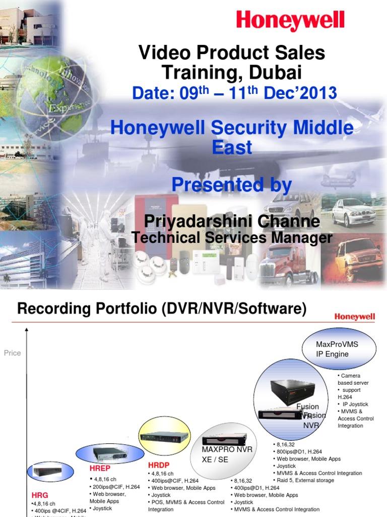 Honeywell Nvr App