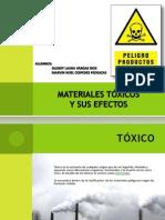 Materiales Toxicos y Sus Efectos