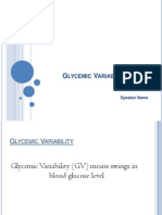 Glycemic Variability June 12 2014
