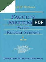 Faculty_meetings Rudolf Steiner