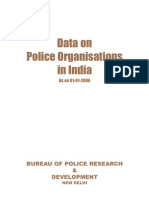 Data on Police Organisations in India