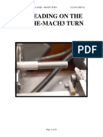 Mach3 Threading