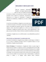 Alcoholismo y Drogadicció1
