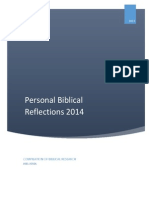Personal Bible Reflections